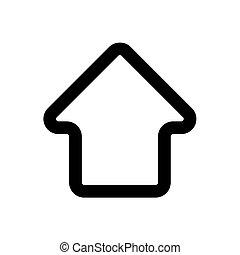 ikon, elszigetelt, fehér, homepage, áttekintés, háttér