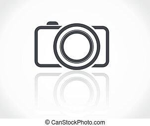 ikon, fényképezőgép