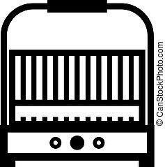 ikon, grill, elektromos
