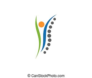 ikon, jelkép, gerinc, ábra, tervezés, vektor