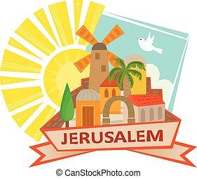 ikon, jeruzsálem