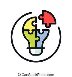 ikon, kibogoz, szín, probléma