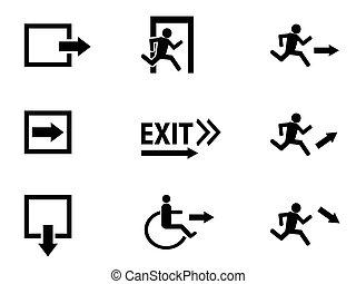 ikon, kijárat