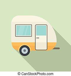 ikon, lakás, utazás, mód, kúszónövény