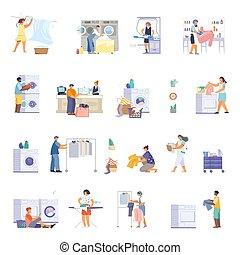 ikon, mosoda, állhatatos, lakás