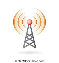 ikon, pod-cast, rádióközvetítés