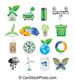 ikonok, állhatatos, ökológia