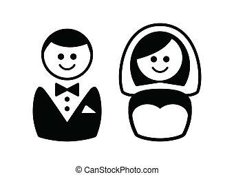 ikonok, házaspár