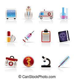 ikonok, healthcare, orvosi