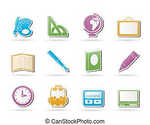 ikonok, izbogis, oktatás