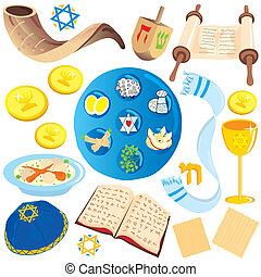 ikonok, jelkép, nyiradék rajzóra, zsidó