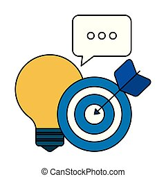 ikonok, marketing, fény, média, társadalmi, gumó