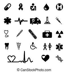 ikonok, orvosi
