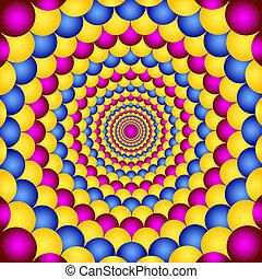 illúzió, látási