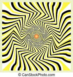 illúzió, mozgalom