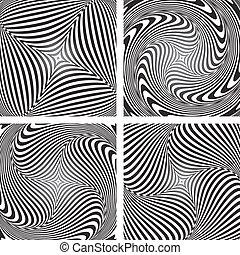 illusion., set., csavarodás, mozgalom