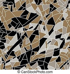 illustration., pattern., álcáz, vektor, digitális, geometriai