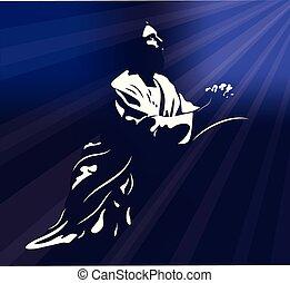 imádkozás, jézus