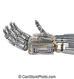 imaginárius, cél, robot, hatalom kezezés