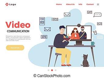 Gyakorló, étkezési, kínai evőpálcikák, dolgozó, ember. | CanStock