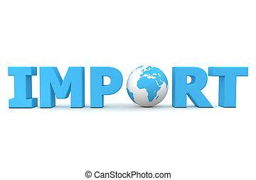 import, világ