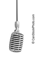 included), út, mikrofon, (clipping