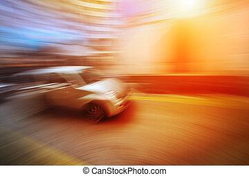 indítvány, autó, életlen