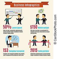 infographic, állhatatos, ügy