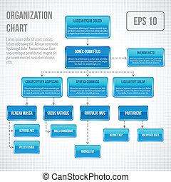 infographic, szervezési táblázat