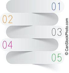 infographics, fehér, dolgozat, design.