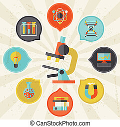 információs anyag, lakás, fogalom, tudomány, graphic tervezés, style.