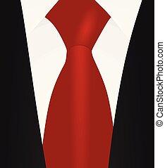 ing odaköt, feláll, suit., fekete, becsuk, white piros