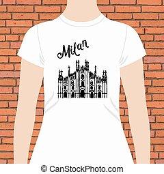 ing, szöveg, kánya, tervezés, templom, fehér