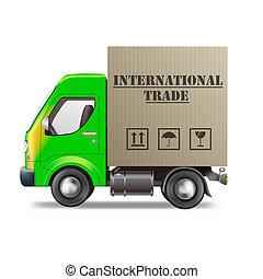 internatinal, kereskedelem