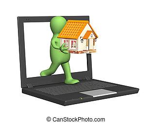 internet, otthon