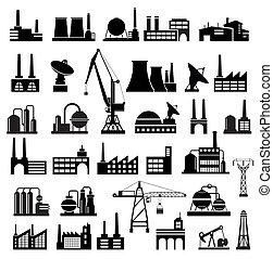 ipari, épületek, 2