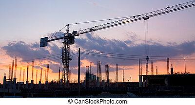 ipari, szerkesztés hely