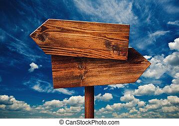 irány, elhomályosul, ellentétes, fából való, ellen, aláír, falusias, tiszta