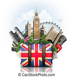 iránypont, anglia, utazás, brit