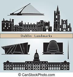 iránypont, dublin, nyelvemlékek