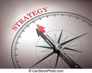 iránytű, elvont, tű, hegyezés, stratégia, szó