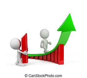 irányvonal, személy, növekedés, -, 3
