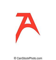 irodalomtudomány, háromszög, szám, jel, 7, vektor