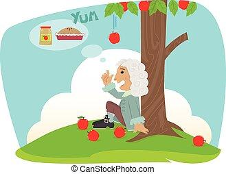 isaac, applesauce
