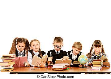 iskolás gyerek