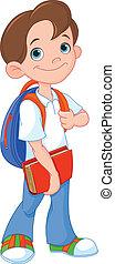 iskolásfiú
