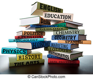 iskolakönyvek, kazal