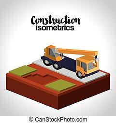 isometrics, szerkesztés, tervezés