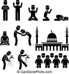 iszlám, kultúra, muzulmán, vallás