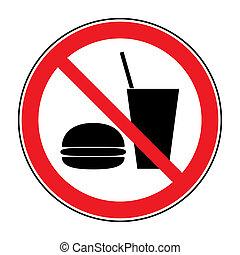 ital, no táplálék